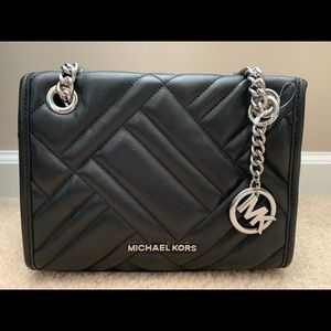 Michael Kors Kathy Quilted Lamb Leather Bag